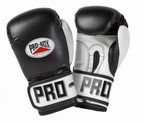 PRO BOX PU CLUB ESSENTIALS COLLECTION BLACK JUNIOR SPARRING GLOVES
