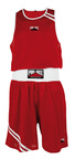 View the Pro BOX 'CLUB ESSENTIALS' Red Boxing Short online at Fight Outlet