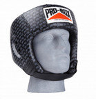 View the Pro Box Base Spar Headguard, Black Logo online at Fight Outlet