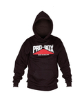 View the Pro Box Black Hooded Sweat Top online at Fight Outlet