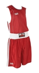View the Pro Box 'Body Tec' Red Boxing Shorts online at Fight Outlet