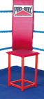 View the Pro Box Corner Stool Red or Blue online at Fight Outlet