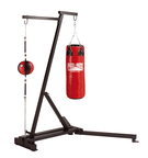 View the Pro Box Free Standing Punch Bag Frame with Floor to Ceiling Option online at Fight Outlet