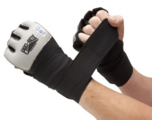 View the Pro Box Gel Wraps Black/Silver online at Fight Outlet