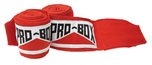 View the Pro Box Junior A.I.B.A Spec Stretch Hand Wraps Red 1.5m online at Fight Outlet