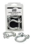 View the Pro Box Large Rope Shackles online at Fight Outlet