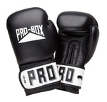 Pro Box Leather 'CLUB ESSENTIALS COLLECTION' Black Sparring Glove