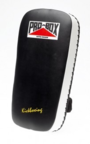 View the Pro Box Leather Thai Pad Black/White online at Fight Outlet