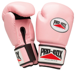 Pro Box 'PINK COLLECTION' PU Training Gloves