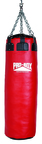 View the Pro Box 'RED' Colossus Leather Punch Bag 60kg online at Fight Outlet