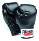 Pro Box 'SOUVENIR COLLECTION' Kidz Black PU Play Boxing Gloves