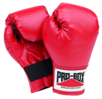 Pro Box 'SOUVENIR COLLECTION' Kidz Red PU Play Boxing Gloves