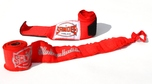 View the Sandee 2.5m Stretch Cotton Hand Wraps Red online at Fight Outlet