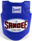 View the Sandee Authentic Body Shield Synthetic Leather Blue/White Kids online at Fight Outlet