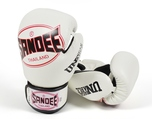 Sandee Cool-Tec Velcro 3 Tone Kids Boxing Glove Synthetic Leather White/Black/Red