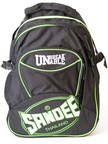 View the Sandee Heavy-Duty Black & Green Backpack online at Fight Outlet