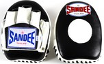 View the Sandee Mini Focus Mitts Leather Black/White  online at Fight Outlet