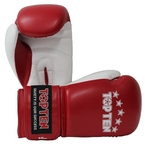 View the Top Ten Boxing Gloves NB II 10oz Red/White online at Fight Outlet