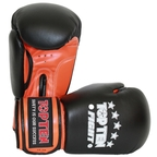 View the Top Ten Fight Boxing Glove Black/Orange 10oz online at Fight Outlet