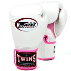 BGVLA-1 Twins White-Pink Air Boxing Gloves