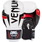 View the Venum Elite Adult Boxing Gloves White online at Fight Outlet