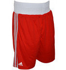 View the Adidas Base Punch II Boxing Shorts Red online at Fight Outlet