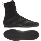 View the Adidas Box Hog 3 Black Boxing Boots online at Fight Outlet