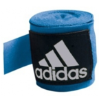 View the Adidas Hand Wraps Stretchable Blue 255cm online at Fight Outlet