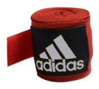 View the Adidas Hand Wraps Stretchable Red 255cm online at Fight Outlet
