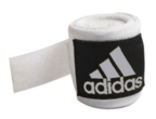 View the Adidas Hand Wraps Stretchable White 255cm online at Fight Outlet