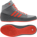 View the Adidas Havoc Kids Grey/Red Junior Boots online at Fight Outlet