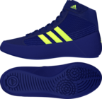 View the Adidas Havoc Kids Lace Boxing Boot Mystery Ink/Yellow online at Fight Outlet
