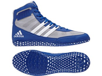 View the Adidas Mat Wizard 3 Blue online at Fight Outlet