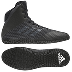 View the Adidas Mat Wizard 4 Fight Boot. Black online at Fight Outlet