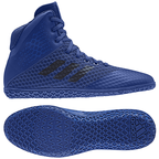 View the Adidas Mat Wizard 4 Blue online at Fight Outlet