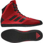 View the Adidas Mat Wizard 4 Red/Black online at Fight Outlet