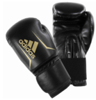 View the Adidas Speed 50 Boxing Gloves Black/Gold online at Fight Outlet