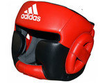 View the Adidas Super Pro Head Guard Red Black online at Fight Outlet