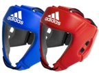 View the Aiba Licensed Head Guard, Blue online at Fight Outlet