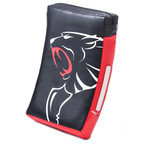 View the Carbon Claw Granite GX-5 Strike Shield Curved Black/Red online at Fight Outlet