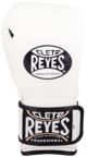 View the Cleto Reyes White Velcro Sparring Gloves online at Fight Outlet