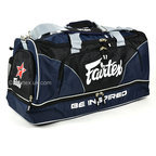 View the BAG2 Fairtex Navy Heavy Duty Gym Bag online at Fight Outlet