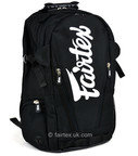 View the Fairtex BAG8 Compact Back Pack Black Hawk online at Fight Outlet