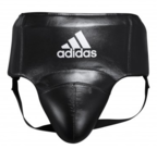 View the Adidas AdiStar Pro Black/White Groin Guard online at Fight Outlet