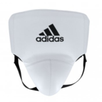 View the Adidas AdiStar Pro White/Black Groin Guard online at Fight Outlet
