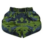 "View the Adidas ""Camo"" Thai Boxing Shorts online at Fight Outlet"