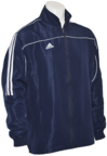 View the Adidas Junior Tracksuit Jacket Blue/White online at Fight Outlet