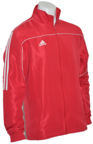 View the Adidas Junior Tracksuit Jacket Red/White online at Fight Outlet