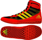 View the Adidas Mat Wizard 3 Energy Red/Yellow/Black online at Fight Outlet