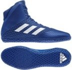 View the Adidas Mat Wizard 4 Blue/White online at Fight Outlet